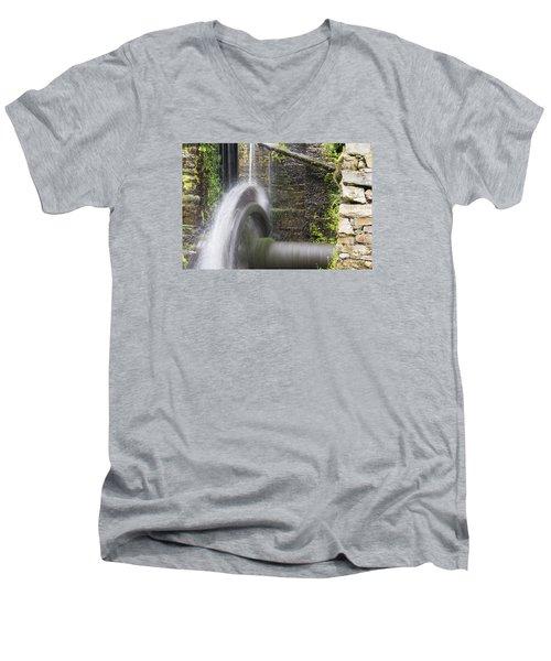 Mill Wheel Men's V-Neck T-Shirt