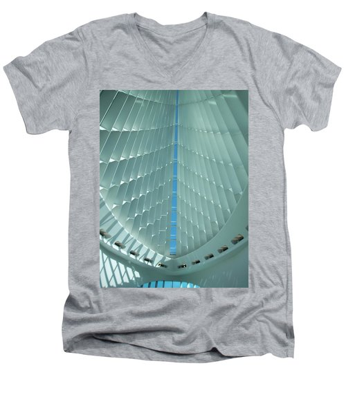 Milwaukee Art Museum Interior Men's V-Neck T-Shirt