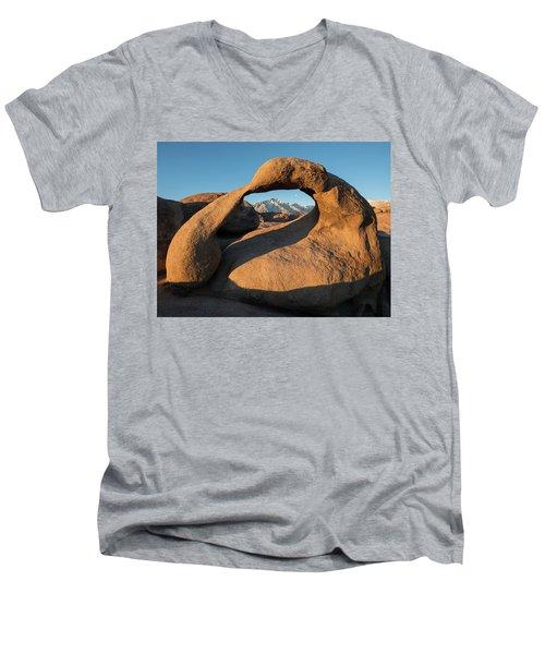 Mind Bender Men's V-Neck T-Shirt by Dustin LeFevre