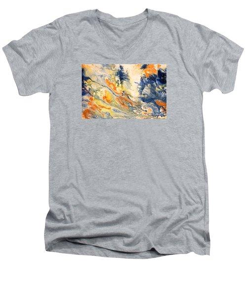 Mind Flow Men's V-Neck T-Shirt