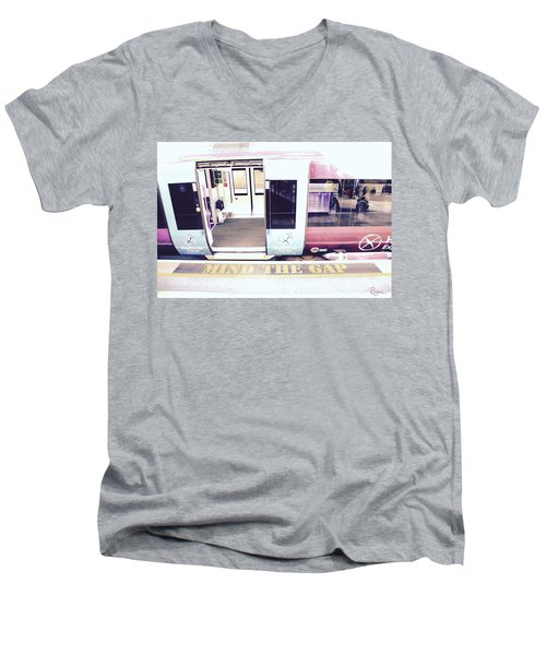 Mind The Gap Men's V-Neck T-Shirt
