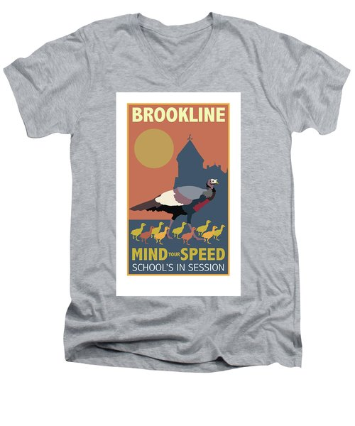 Mind Your Speed Men's V-Neck T-Shirt