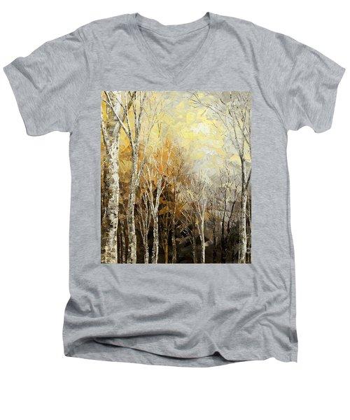 Mindful Melodies Men's V-Neck T-Shirt