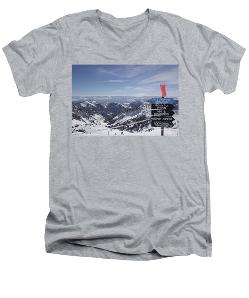 Mineral Basin Men's V-Neck T-Shirt