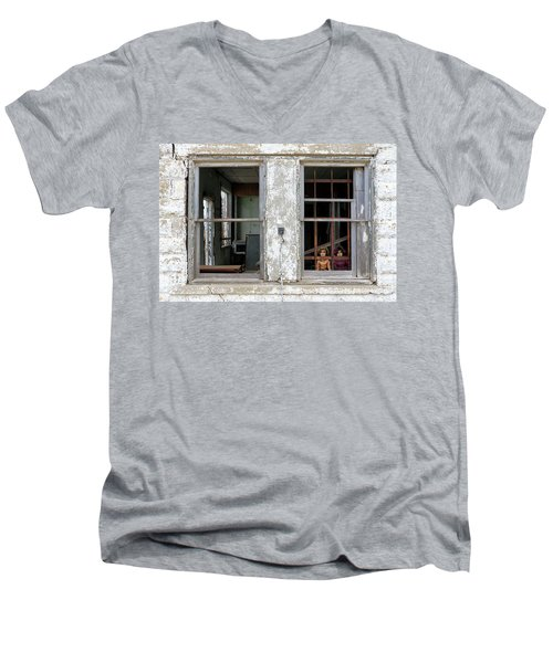 Minimum Security Men's V-Neck T-Shirt by Christopher McKenzie
