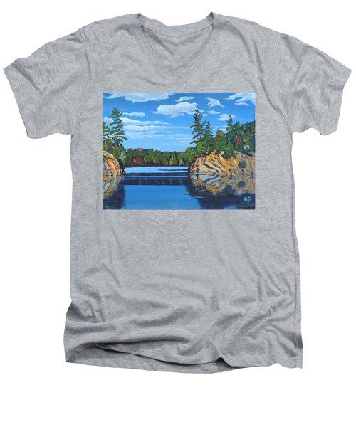Mink Lake Gap Men's V-Neck T-Shirt