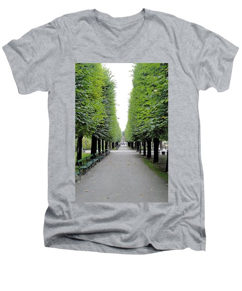 Mirabell Garden Alley Men's V-Neck T-Shirt