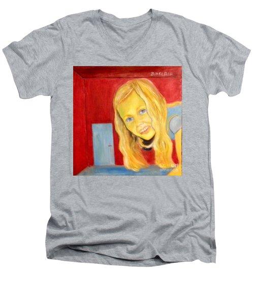 Miracles Of Wonderland Men's V-Neck T-Shirt