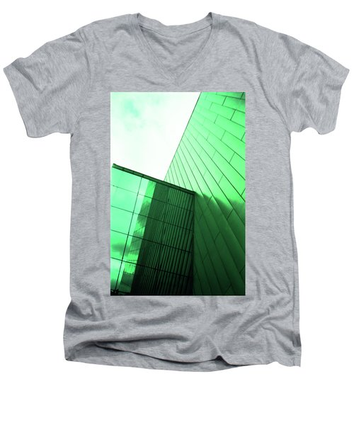 Mirror Building 2 Men's V-Neck T-Shirt