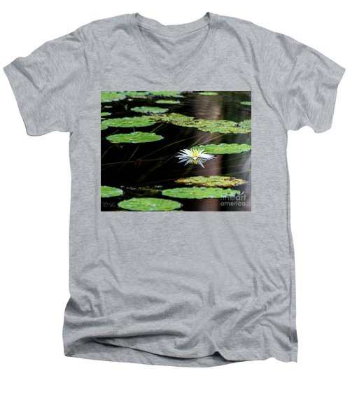 Mirror Lily Men's V-Neck T-Shirt