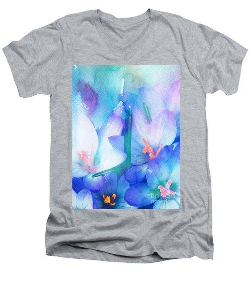 Mirthfulness Men's V-Neck T-Shirt