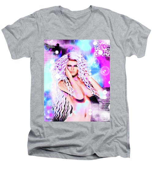 Miss Inter-dimensional 2089 Men's V-Neck T-Shirt