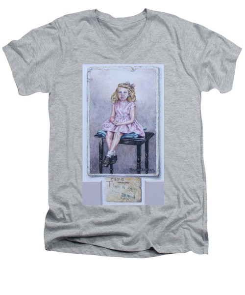 Missing Daddy, Devonshire 1940 Men's V-Neck T-Shirt