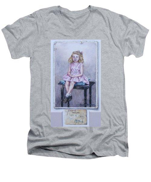 Missing Daddy, Devonshire 1940 Men's V-Neck T-Shirt