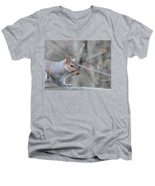 Missing Paw Men's V-Neck T-Shirt