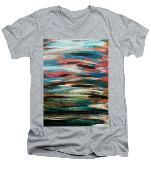 Missing Strokes Men's V-Neck T-Shirt