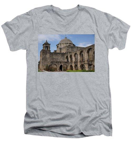 Mission San Jose - 1218 Men's V-Neck T-Shirt