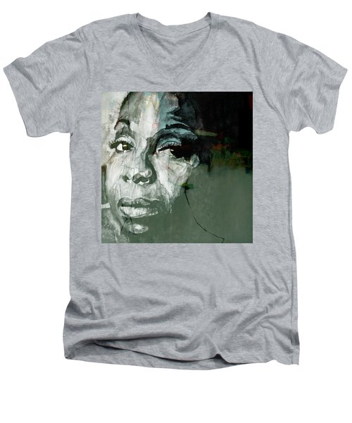 Mississippi Goddam Men's V-Neck T-Shirt by Paul Lovering