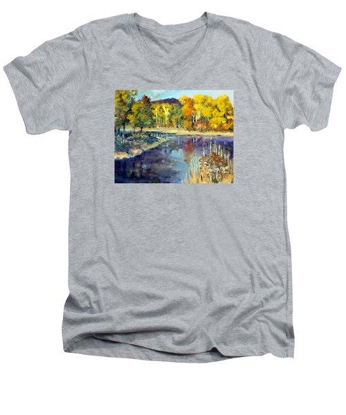 Mississippi Mix Men's V-Neck T-Shirt