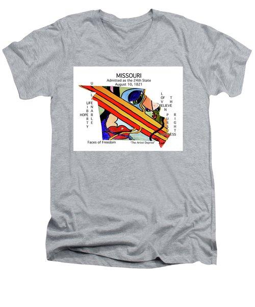 Missouri Men's V-Neck T-Shirt
