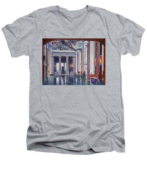 Missouri History Museum Men's V-Neck T-Shirt by Michael Frank