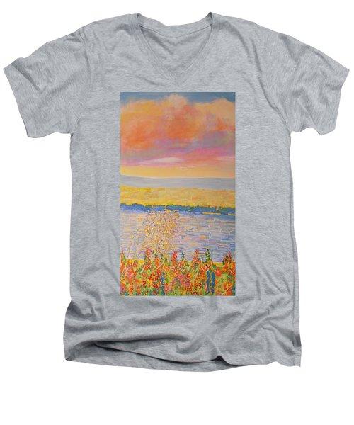 Missouri River Men's V-Neck T-Shirt