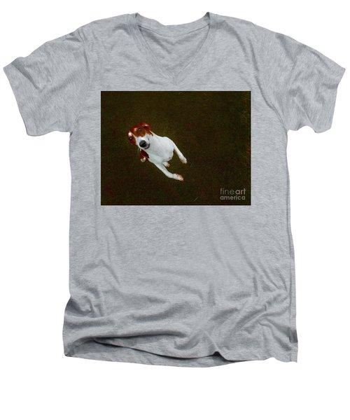 Mister Bitsa Men's V-Neck T-Shirt