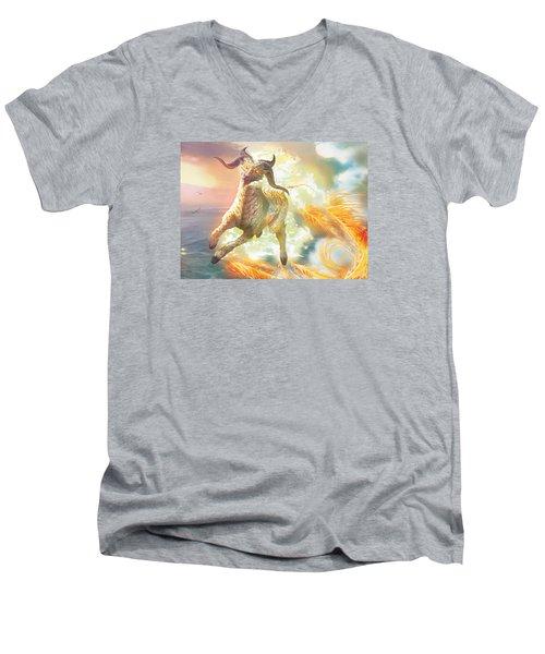 Misthoof Kirin Men's V-Neck T-Shirt