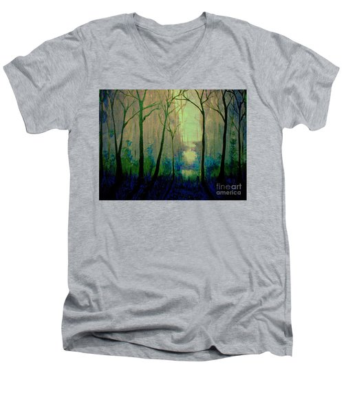 Misty Morning 2 Men's V-Neck T-Shirt