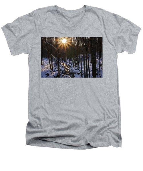 Misty Morning Men's V-Neck T-Shirt