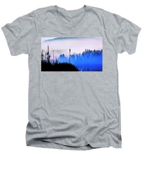 Misty Mountain Hop Men's V-Neck T-Shirt