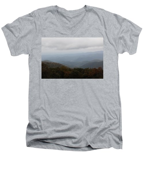 Misty Mountains More Men's V-Neck T-Shirt