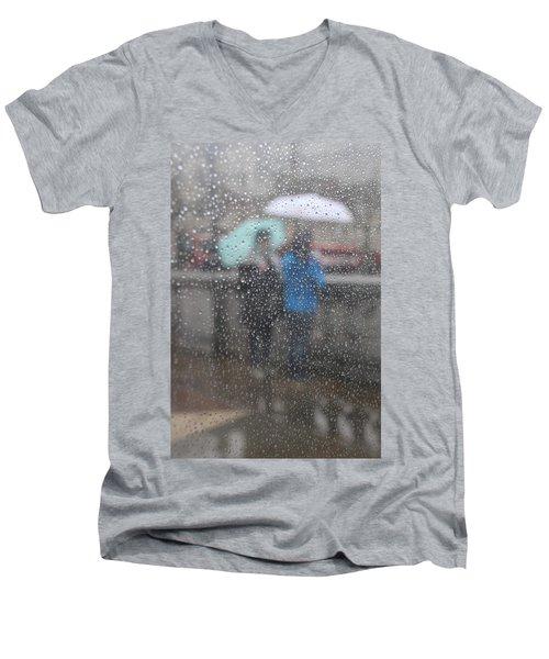 Misty Rain Men's V-Neck T-Shirt