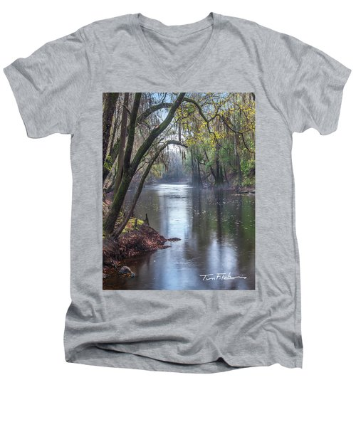 Misty River Men's V-Neck T-Shirt