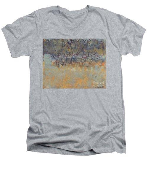 Misty Trees Men's V-Neck T-Shirt