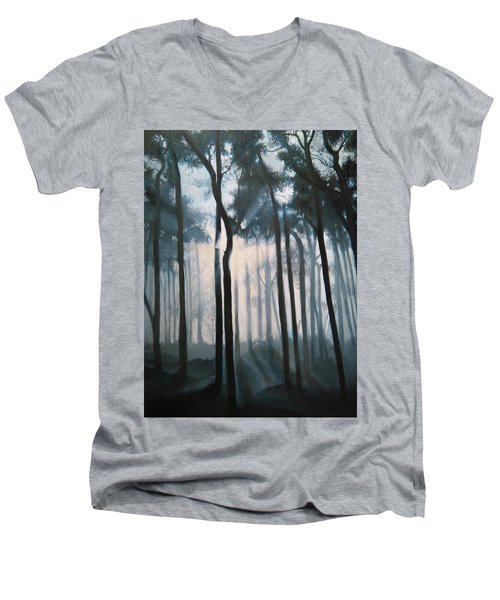 Misty Woods Men's V-Neck T-Shirt