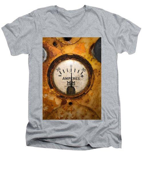 Mm Amperes Gauge Men's V-Neck T-Shirt