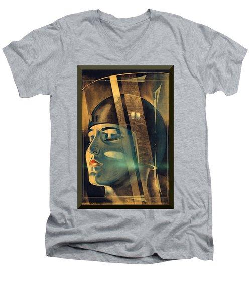 Metropolis Maria Transformation Men's V-Neck T-Shirt
