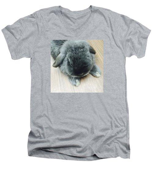 Mocousa Men's V-Neck T-Shirt by Nao Yos
