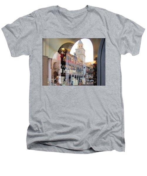 Modena, Italy Men's V-Neck T-Shirt