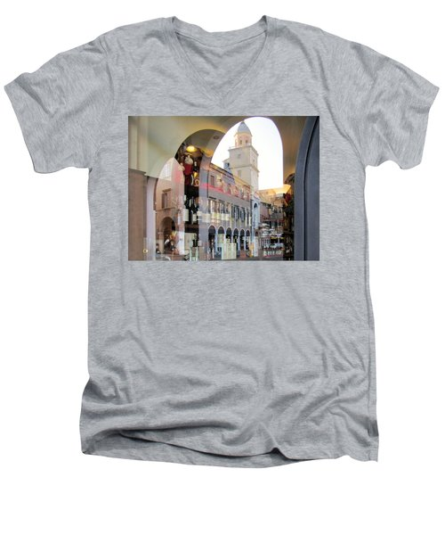 Modena, Italy Men's V-Neck T-Shirt