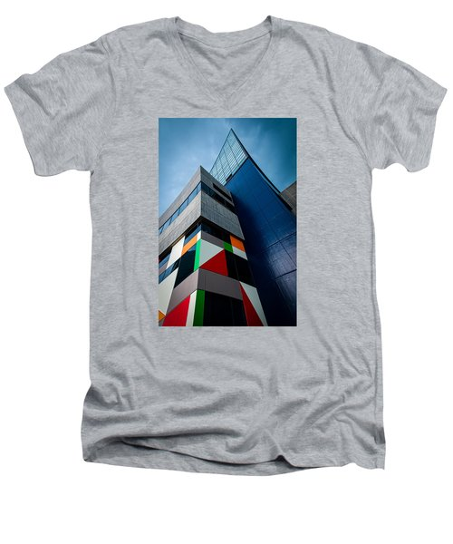 Modern Architecture Men's V-Neck T-Shirt