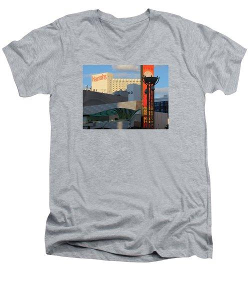 Modern Architecture Men's V-Neck T-Shirt