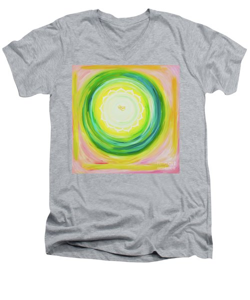 Moksh Yantra Men's V-Neck T-Shirt