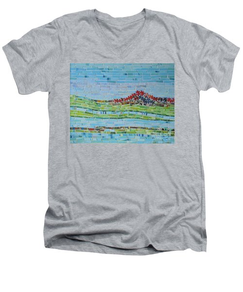 Mole Hill Reborn Men's V-Neck T-Shirt