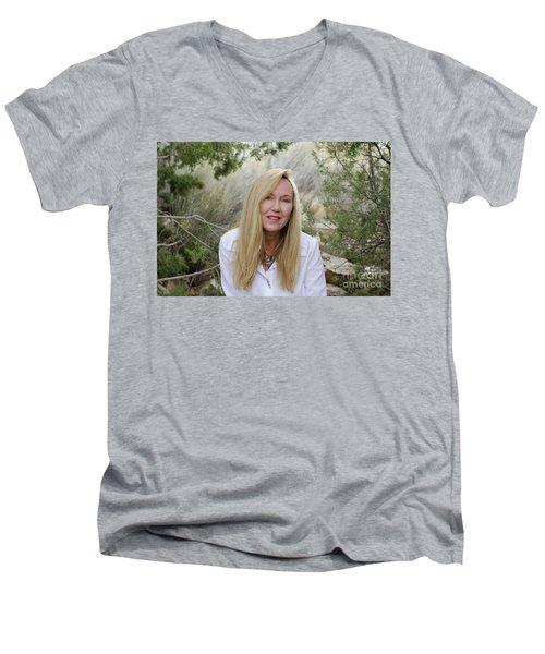 Molly 1 Men's V-Neck T-Shirt