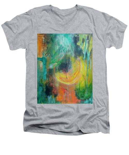 Moment In Time Men's V-Neck T-Shirt