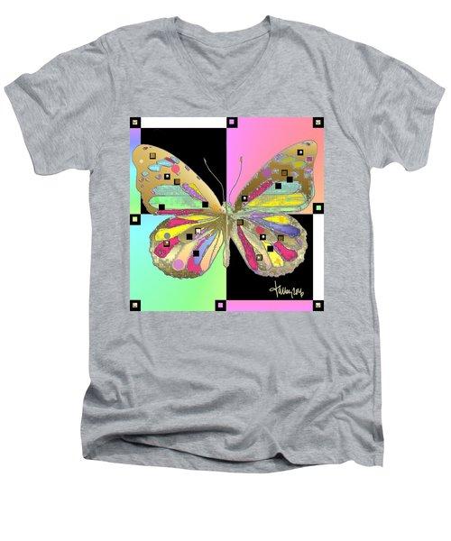 Moment Of Transformation II Men's V-Neck T-Shirt