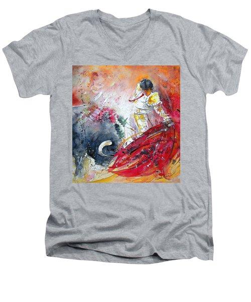 Moment Of Truth 2010 Men's V-Neck T-Shirt