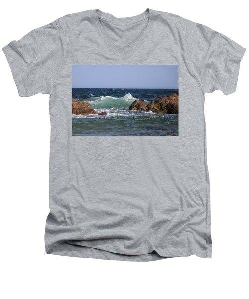 Momentary Matterhorn Men's V-Neck T-Shirt